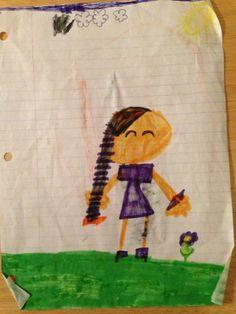 Art by jasmin, 8 years old • Art My Kid Made #kidart #markers