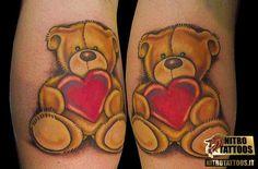 orso tattoo peluche
