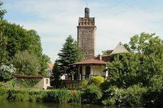 Hallescher Turm in Delitzsch, Wallgraben