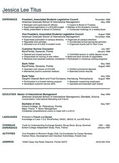 Example College Resumes Magnificent List 7 Different Resume Formats  Resume Format  Pinterest  Resume .