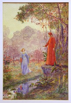 shakypigment: Bela Čikoš Sesija Dante and Beatrice