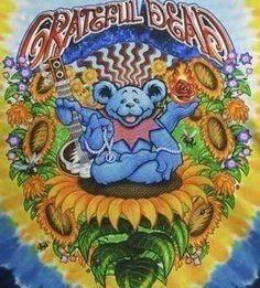 guru Grateful Dead Wallpaper, Grateful Dead Poster, Grateful Dead Dancing Bears, Hippie Life, Hippie Style, Phil Lesh And Friends, Trippy Pictures, Dead And Company, Bear Art