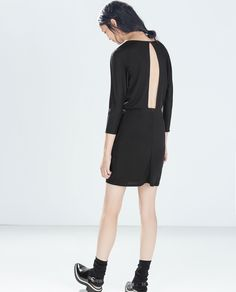 Image 2 of DRESS WITH BACK SLIT from Zara