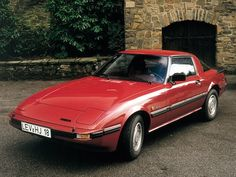 Mazda RX-7 (1981 - 1985). Maintenance/restoration of old/vintage vehicles: the material for new cogs/casters/gears/pads could be cast polyamide which I (Cast polyamide) can produce. My contact: tatjana.alic@windowslive.com