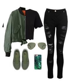 """""""Untitled #26"""" by sharifahfun on Polyvore featuring Ted Baker, WithChic, Dorothy Perkins, NIKE and Casetify"""