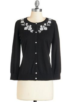 Exquisite and Talk Cardigan in Black