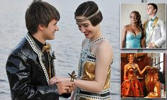 Teens model amazing Duck Tape outfits in annual Stuck at Prom contest  WOW!!