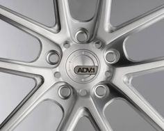 ADV 5.0SL Matte Brushed Center cap with inlaid logo