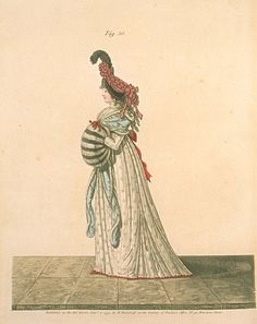 Gallery of Fashion, figure 36, January 1795