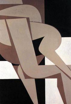 amare-habeo: Yannis Moralis (Greek, 1916 - Erotic, 1988 acrylic on canvas, 195 x 130 cm Art Amour, Art Du Collage, Greek Paintings, Art Through The Ages, Ecole Art, Inspiration Art, Greek Art, Art Design, Art Plastique