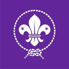 La Flor de Lis.   Insignia Scout Mundial de la OMMS.