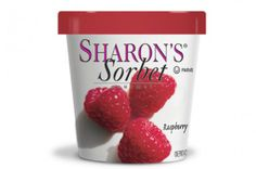 SELF-Approved Treats | Sorbet: Sharon's Sorbet Raspberry. Pop a spoonful into a glass of sparkling wine for an easy champagne cocktail.