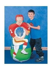 Fun Express Inflatable Football Player Catch Sports Game 1 Set Toy -- More info could be found at the image url.