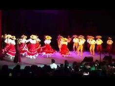 La Charreada-Ballet Folklorico de Los Angeles-Mariachi Garibaldi - YouTube