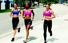A good sports bra is essential for a great run. #ChampionSportsBras