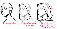 How do you draw hoods/cloaks - SAMiJEN