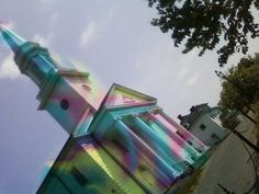 Assignment 3 tie-dyed church