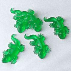 10 Lizard Party Favors Lizard Soap Favors Reptile by TheBathofKhan, $18.50