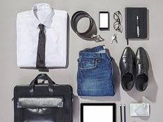Overhead of essentials modern man. Outfit of business man. Best Dress Shirts, Diwali Sale, Business Stock Photos, Professional Image, 2015 Trends, Man Photo, Modern Man, Photo Editing, Mens Fashion