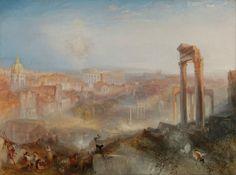 Joseph Mallord William Turner - Modern Rome, Campo Vaccino (1839)