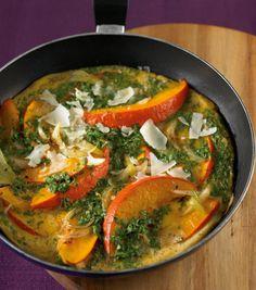 Kürbis-Omelett Rezept - ESSEN & TRINKEN