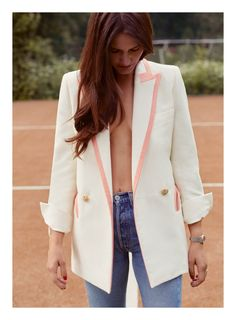 Blaze Milano Resort 2017 Summer Blazer, Vacation Wardrobe, Glamour, Street Style, Blazers For Women, Missoni, Color Combinations, Blazer Suit, Duster Coat