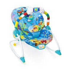 Cadeirinha Bouncer - Balanço no Oceano de Aventura - Baby Einstein. Segurança, diversão e conforto para seu bebê!