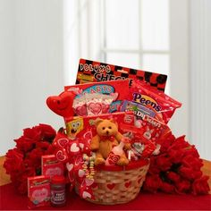 My Little Valentine Childrenu0027s Gift Basket
