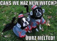 Ours melted! Hahahahahahaha!