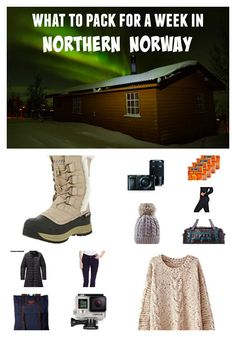 Don't freeze your tushie off! Check out this post for a list of what to pack for a week in the northern Norway - the complete guide for any winter getaway. Carry On Packing, Packing List For Travel, Packing Tips, Travel Tips, Cruise Packing, Travel Ideas, Bergen, Norway Winter, Norway Travel