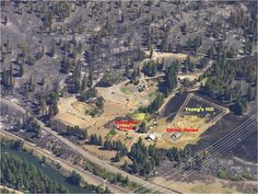 Aerial View of Fire that Burned Sanctuary Property  Amazing that the chimps and humans all made it through this.