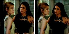 Clary and Izzy in 2x03 #Clizzy