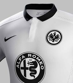 43b2373af6 The new Nike Eintracht Frankfurt Home Kit features a fresh pinstripes  design
