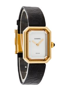 Vintage 18K yellow gold Chanel watch // want