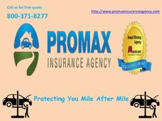 General Insurance Quotes Brilliant Promax Insurance Agency A Mercury Authorized Agent Provides