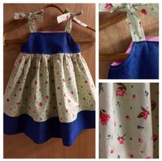 This darling 3t Boho Sundress is just darling for spring and summer!