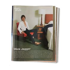 The 20 Hunkiest Men of Style - Mick Jagger, November 2002 from #InStyle