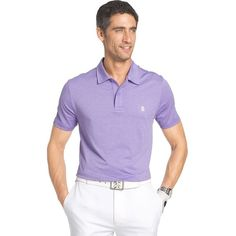 Men's IZOD Cutline Classic-Fit Performance Golf Polo ($33) ❤ liked on Polyvore featuring men's fashion, men's clothing, brt purple, men's apparel, polo mens clothing, mens golf shirts, big & tall men's clothing and big and tall mens clothing