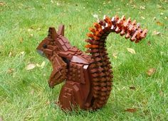 Help the red squirrel. A very talented builder made a model of the red squirrel and needs your vote to get it a LEGO set. The red squirrel is an endangered species and the royalties go to the WWWF. Please check LEGO ideas and vote for the project.