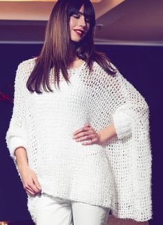 Lana Grossa PONCHOPULLI Gallina - FILATI Accessoires No. 15 - Modell 39 | FILATI.cc WebShop