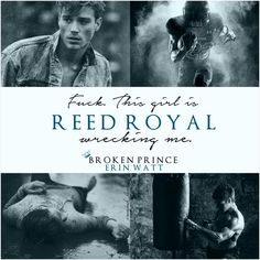 Reed Royal | The Royals by Erin Watt
