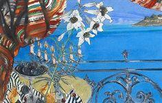 Flowers and figs, Leeukop by Louis Jansen van Vuuren