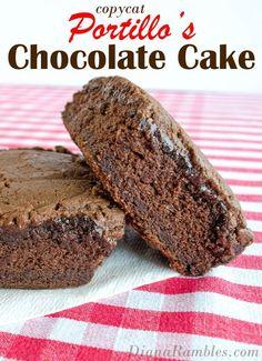 Portillos Chocolate Cake Recipe Copycat