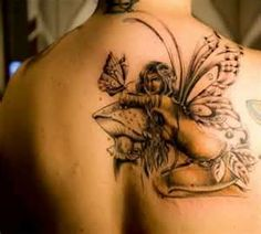 fairy tattoos #tattoo #ink #art