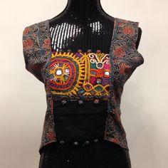 Long Kutchi Designer Kurti - Multicolor