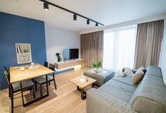 Zdjęcie numer 1 w galerii - Nowoczesne mieszkanie w kolorze granatowym