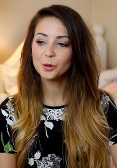 Zoella Haircut Before And After