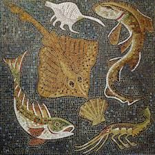 pompeii mosaic  -not related to klines, but the attention to detail and composition of these fishies is awesome!