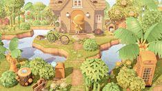 Animal Crossing Wild World, Animal Crossing Game, Urban Island, River Mouth, Forest Camp, Pokemon, Island Theme, Cartoon Profile Pics, Filthy Animal