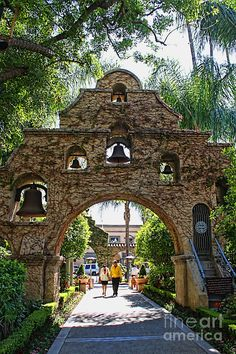 The Mission Inn  Old stomping grounds as a kid. My parents did antique shows at Mission Inn and bring us yo let us run wild.